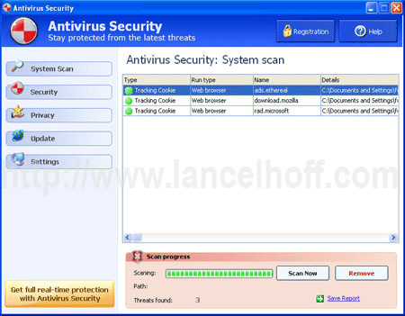 Fake Antivirus Security