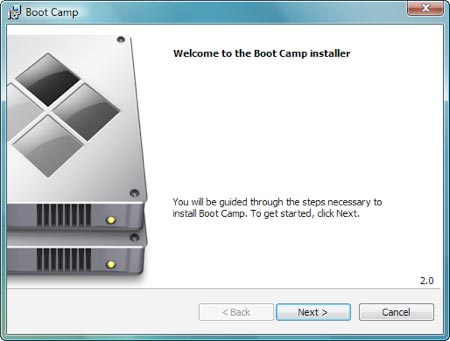 Boot Camp Windows Driver Installation