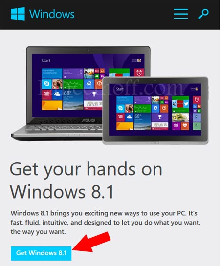 Get Windows 8.1 Download